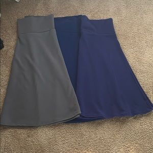 Lularoe Azure 3 pack Skirts